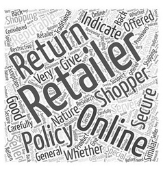 Is Online Shopping Secure Word Cloud Concept vector