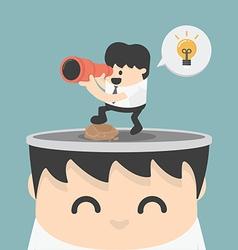 Look ideas vector image