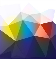 low poly technology background vector image