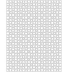 puzzle 2 vector image