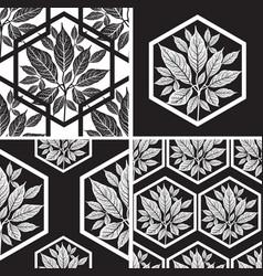 Seamless tree pattern 2 vector