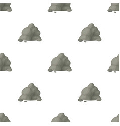 The small gray slidea mountain that consists of a vector