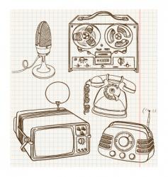vintage vector image