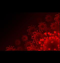 Virus organism danger biology macro black vector