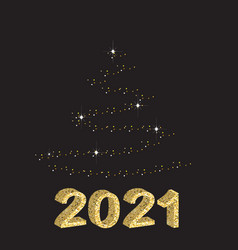 2021 christmas card vector
