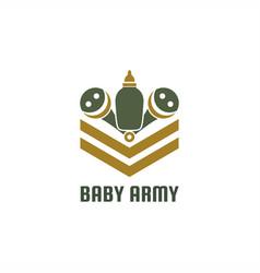 Baarmy logo vector
