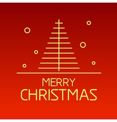 Christmas outline 2 vector