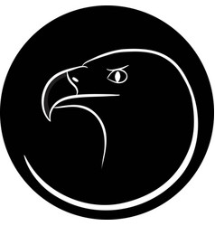 Eagle icon vector