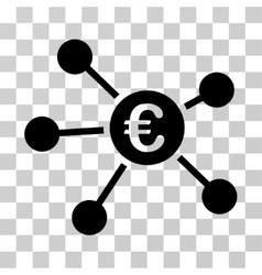Euro Links Icon vector