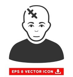 Head Hurt EPS Icon vector image