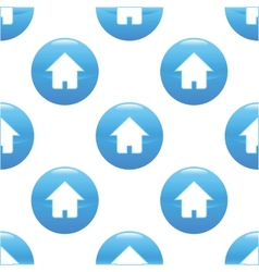 House sign pattern vector image