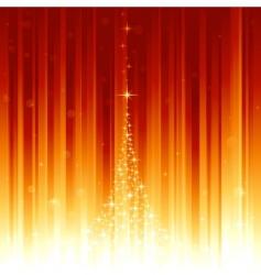 magic christmas vector image