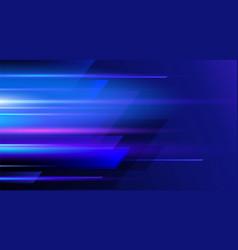 Motion geometric shape futuristic technology vector