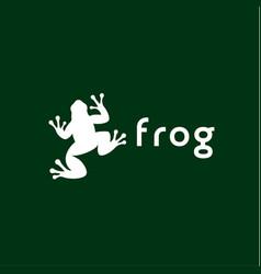 frog trend vector image vector image
