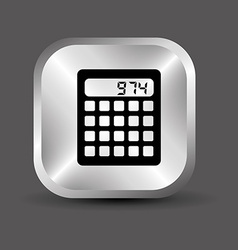 calculator design vector image