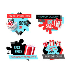 Exclusive products best price 25 percent lower vector