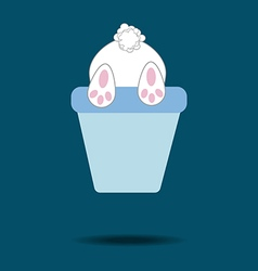 Rabbit Bunny Icon vector image