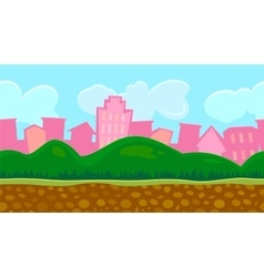 Seamless background for game vector image