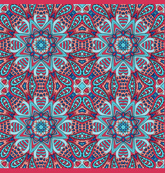 Seamless doodle pattern colorful background vector