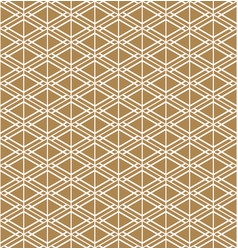 Seamless geometric pattern inspired japanese vector
