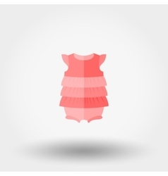 Baby dress jumpsuit vector image vector image