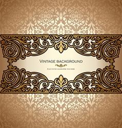 vintage card royal vector image vector image