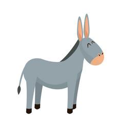 donkey animal christianity religion image vector image vector image