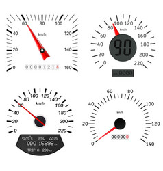 speedometer scales vector image vector image