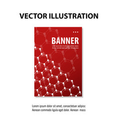 abstract geometric design banner web template vector image