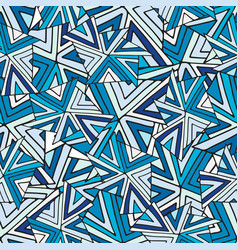 abstract seamless pattern cold geometric vector image