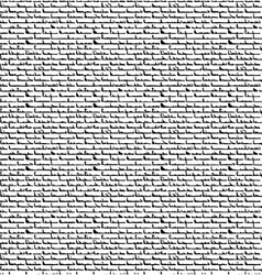 Black bricks-overlapping pattern vector