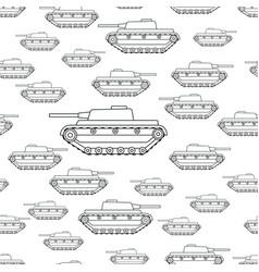 contour tank pattern vector image
