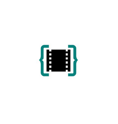 Film code logo vector