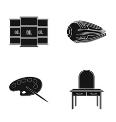 Furniture ecology medicine and other web icon in vector