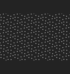 stars background night star seamless pattern vector image