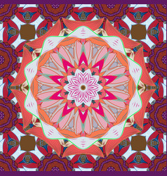 mandala pattern arabic vintage decorative vector image vector image