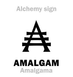 Alchemy amalgam amalgama vector