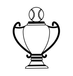 baseball ball icon image vector image