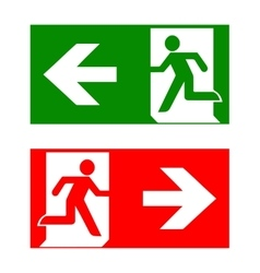 Fire emergency icons Fire vector image