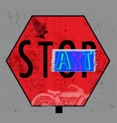 modern typography grafitti vector image