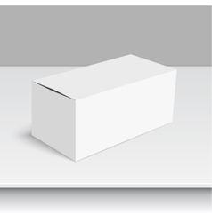 Package white box vector image
