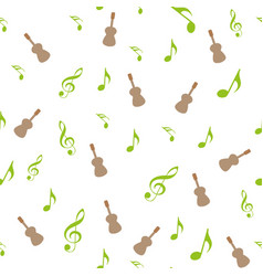 symbols of music sixteenth eighth quarter and vector image