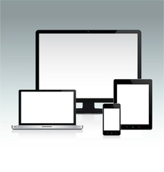 Device Set 2 vector image vector image