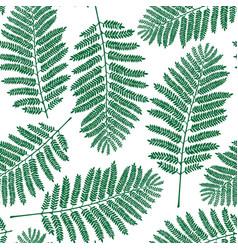 fern leaf pattern vector image