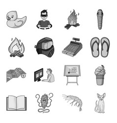 Finance illness rest and other web icon in vector