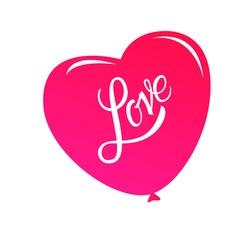Calligraphic Lettering Love Inscription vector image