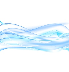 Abstract water background wavy design vector