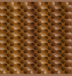 clover brown abstract background vector image