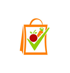 Fruit and vegetable store vector