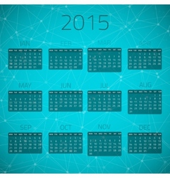 Gloss Connection Calendar 2015 background vector